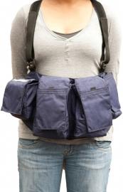 Newswear Womens Medium Chestvest - szelki z pokrowcami damskie niebieskie