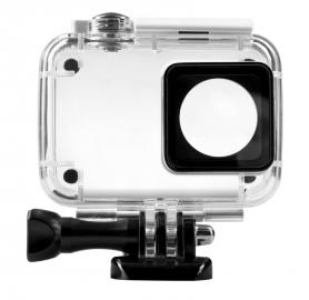 Redleaf Obudowa wodoodporna do kamer sportowych Xiaomi Yi 2 - biały zatrzask