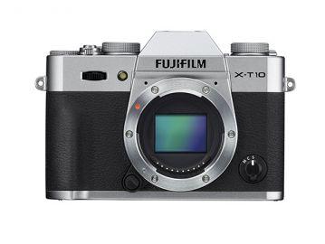 FujiFilm X-T10 body srebrny + karta Sandisk 16 GB 80MB/s GRATIS