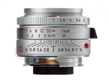 Leica SUMMICRON-M 35 mm f/2.0 ASPH. srebrny