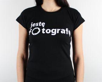 Cyfrowe.pl - koszulka damska Jestę Fotografę / rozm. XL