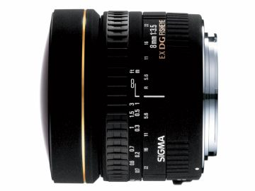 Sigma 8 mm f/3.5 DG EX rybie oko / Canon