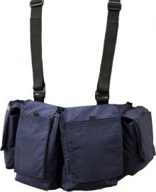 Newswear Mens Digital Chestvest - szelki z pokrowcami niebieskie