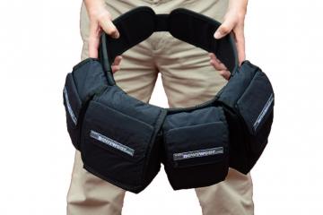 Newswear Championship Belt - rozmiar L (obwód 103-129 cm) - pas biodrowy