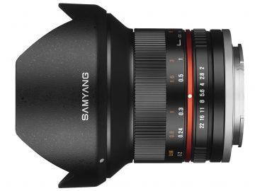 Samyang 12 mm f/2.0 NCS CS / Canon M czarny