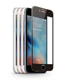 JCPAL Szkło ochronne 3D 0,26mm iPhone 6/6S na cały ekran (czarna ramka)