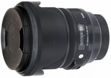 Sigma A 24-105 mm f/4 DG OS HSM / Canon - powystawowy