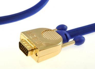 Lindy 37747 Premium Gold VGA (D-sub) - 5m