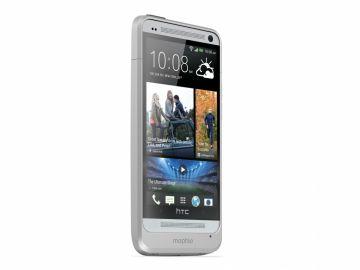 Mophie Juice Pack HTC ONE (kolor srebrny) - obudowa ochronna z wbudowaną baterią (2500 mAh) dedykowana dla HTC ONE