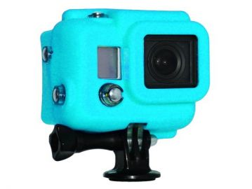Xsories GoPro Hero 3 pokrowiec silikonowy zakryty niebieski