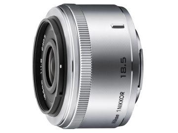 Nikon 1 Nikkor 18.5 mm f/1.8 srebrny