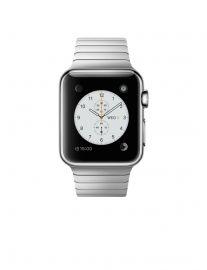 Apple Watch 38 mm ze stali nierdzewnej z bransoletą panelową