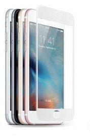 JCPAL Szkło ochronne 3D 0,26mm iPhone 6/6S na cały ekran (biała ramka)