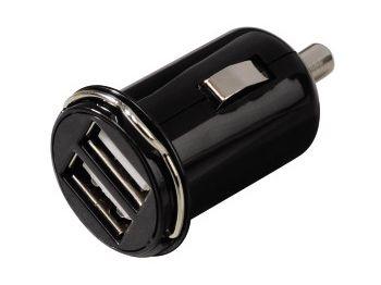 Hama ŁADOWARKA SAMOCHODOWA USB 2 PORTY STEROWNIKI IPHONE 5/5S/SE/6/6+