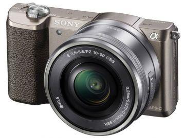 Sony A5100 (ILCE5100) + ob. 16-50 brązowy