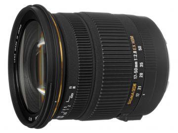 Sigma 17-50 mm f/2.8 EX DC HSM / Sony A