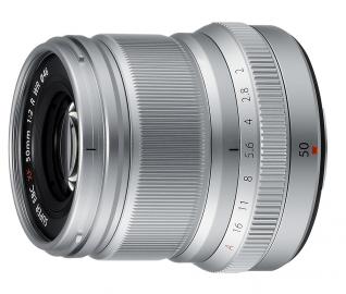 FujiFilm XF 50 mm f/2.0 R WR srebrny