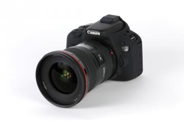 EasyCover osłona gumowa dla Canon 100D/SL1 czarna