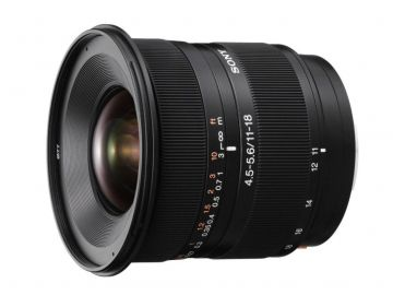Sony 11-18 mm f/4.5-f/5.6 DT (SAL1118.AE) / Sony A