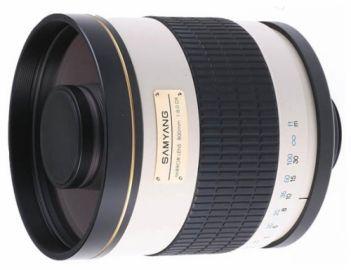 Samyang 800 mm f/8.0 lustrzany / Pentax