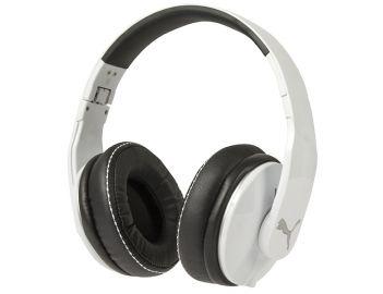 Puma Vortice - Słuchawki nauszne z mikrofonem (białe)