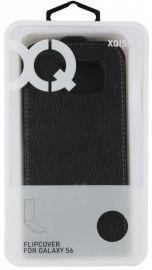 Xqisit Etui Flip cover do Galaxy S6 czarny