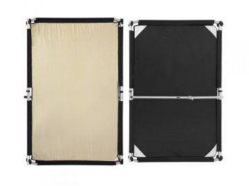 Fomei Materiał Gold-Silver/Black 100x150cm