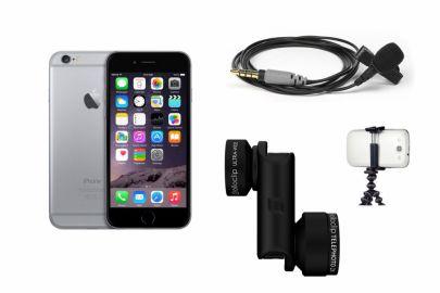 Apple iPhone 6 64GB Gwiezdna Szarość zestaw dla Youtubera