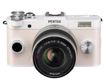 Pentax Q-S1 biały + ob. 5-15