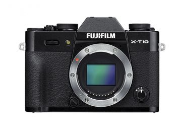 FujiFilm X-T10 body czarny + karta Sandisk 16 GB 80MB/s GRATIS