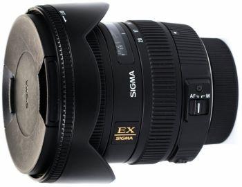 Sigma 10-20 mm f/3.5 EX DC HSM / Nikon - powystawowy