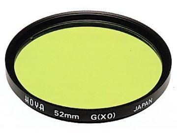 Hoya X0 Yellow-Green 62 mm HMC