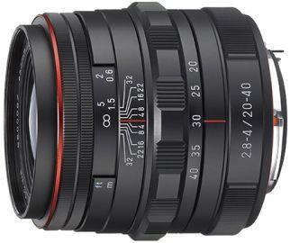 Pentax HD DA 20-40 mm F/2.8-4.0 ED DC WR Limited czarny