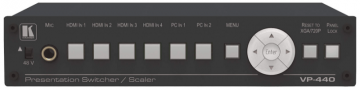 Kramer VP-440 6-portowy skaler/switcher