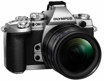 Olympus OM-D E-M1 srebrny + ob. 12-40 czarny