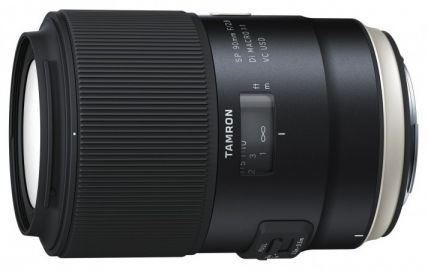 Tamron SP 90 mm f/2.8 Di MACRO 1:1 VC USD / Canon