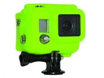Xsories GoPro Hero 3 pokrowiec silikonowy zakryty zielony