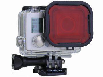 Polar Pro Aqua 3+ czerwony dla GoPro Hero3+