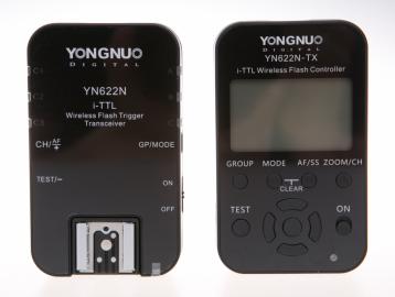 Yongnuo YN-622N KIT LCD zestaw transmiter + nadajnik / odbiornik (stopka Nikon)