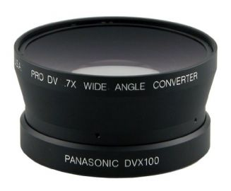 Century Optics 1.6x do Panasonic AG-HVX200