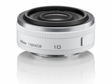 Nikon 1 Nikkor 10 mm f/2.8 biały