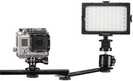 Mantona Lampa doświetleniowa dla GoPro