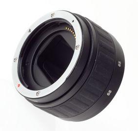 Delta MeiKe Pierścień pośredni z płynną regulacją do Canon EXT