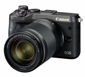Canon EOS M6 + ob. 18-150 IS STM czarny