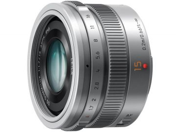 Panasonic LEICA DG SUMMILUX 15 mm f/1.7 ASPH srebrny