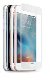 JCPAL Szkło ochronne 3D 0,26mm iPhone 6+ /6S+ na cały ekran (biała ramka)