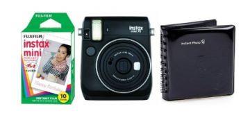 FujiFilm Instax Mini 70 czarny + papier Mini Glossy 10/PK + album