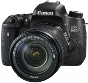 Canon EOS 77D + ob. 18-135 IS USM Nano