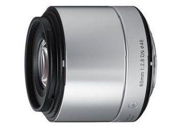 Sigma A 60 mm f/2.8 DN / Micro 4/3 srebny