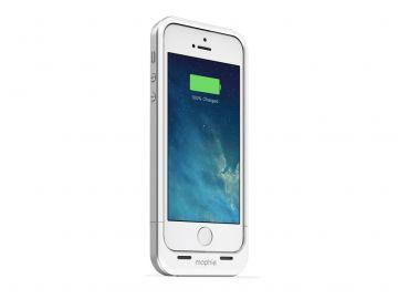 Mophie Juice Pack Air (kolor biały) - zewnętrzna bateria (1700 mAh) wraz z obudową do iPhone 5/5S/SE